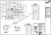 Rebar shop drawings for construction industry